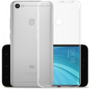 Чехол-накладка TOTO TPU case clear Xiaomi Redmi Note 5A Prime Transparent
