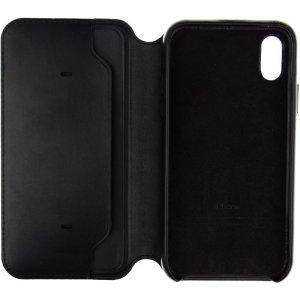 Чехол-книжка Apple Book Cover Case iPhone X Black