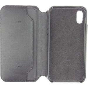 Чехол-книжка Apple Book Cover Case iPhone X Dark Gray