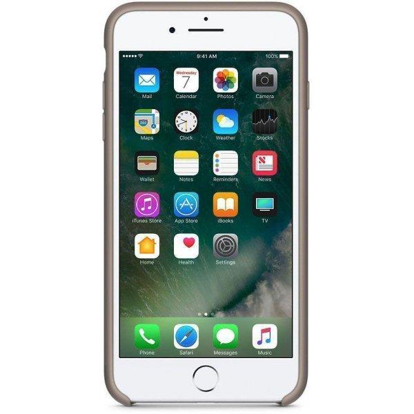 Чехол-накладка Apple Silicone Case для iPhone 7 Plus/8 Plus Taupe