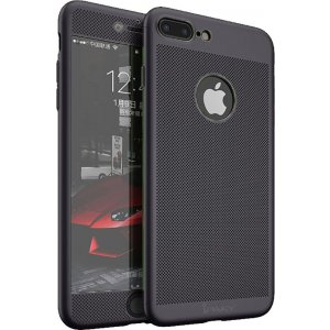 Чехол-накладка Ipaky 360 Mesh PC Heat Dissipation cover case 3 in 1 iPhone 7 Plus Black