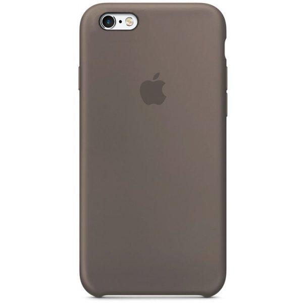 Чехол-накладка Apple Silicone Case для iPhone 6/6s Taupe