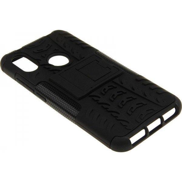 Чехол-накладка TOTO Dazzle kickstand 2 in 1 phone case для Xiaomi Mi A2 Lite/6 Pro Black