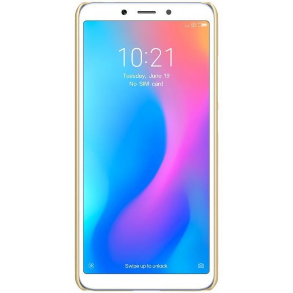 Чехол-накладка Nillkin Super Frosted Shield Xiaomi Redmi 6A Gold