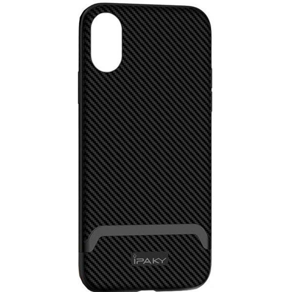 Чехол-накладка Ipaky Bumblebee Series/ PC Frame with TPU Case iPhone Xr (6,1) Gray