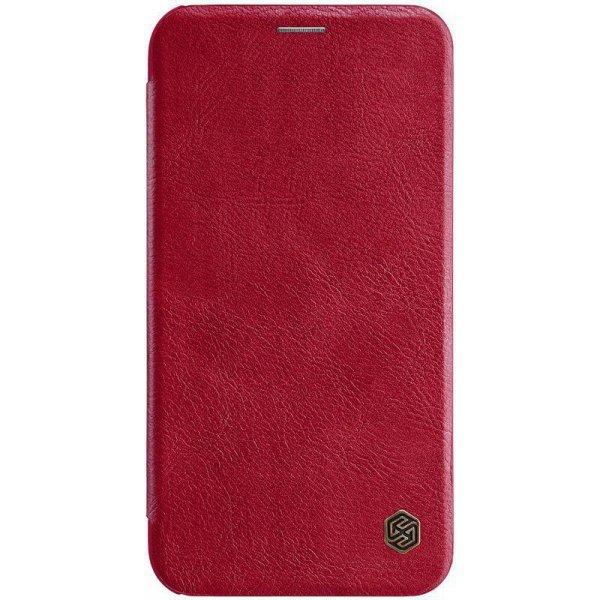 Чехол-книжка Nillkin Qin Leather Case для Apple iPhone Xr Red