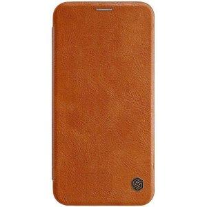 Чехол-книжка Nillkin Qin Leather Case для Apple iPhone Xs Max Brown