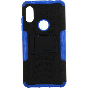 Чехол-накладка TOTO Dazzle kickstand 2 in 1 phone case для Xiaomi Redmi Note 6 Pro Blue