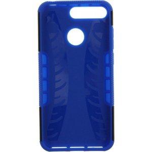 Чехол-накладка TOTO Dazzle kickstand 2 in 1 phone case для Huawei Y6 2018 Blue