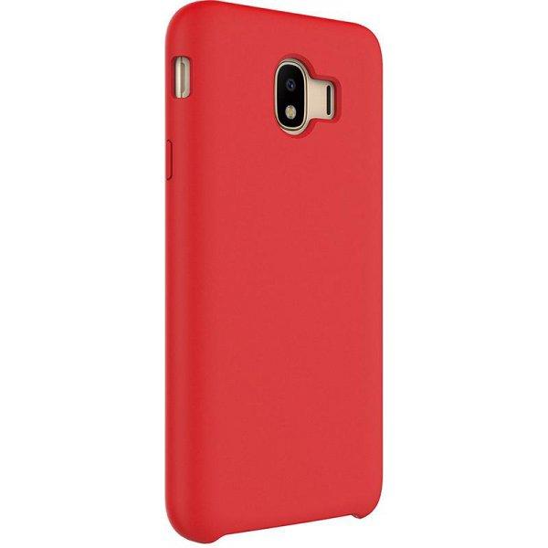 Чехол-накладка TOTO Liquid Silicone case Samsung Galaxy J4 2018 (J400) Red