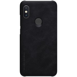 Чехол-книжка Nillkin Qin Leather Case для Xiaomi Redmi Note 6 Pro Black
