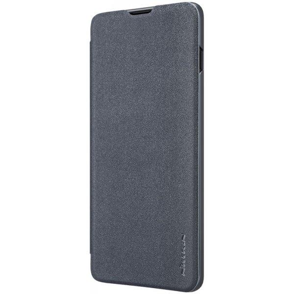 Чехол-книжка Nillkin Sparkle Leather Case Samsung Galaxy S10 Plus (SM-G975) Black