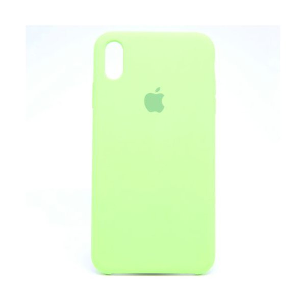 "Чехол Apple Silicone Case для iPhone Xs Max ""35"" Mint"
