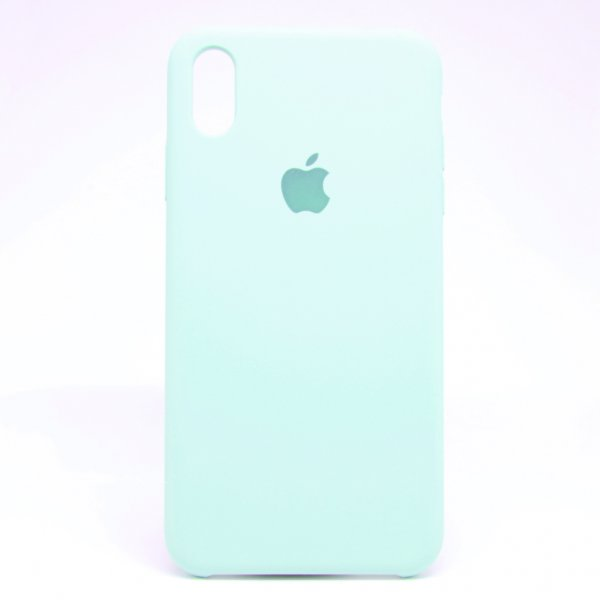"Чехол Apple Silicone Case для iPhone Xs Max ""33"" Turguoise"