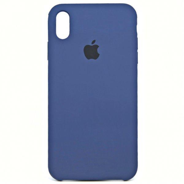 "Чехол Apple Silicone Case для iPhone XR ""23"" Ocean Blue"