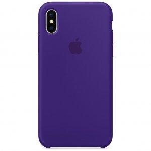 "Чехол Apple Silicone Case для iPhone X/Xs ""08"" Ultra Violet"