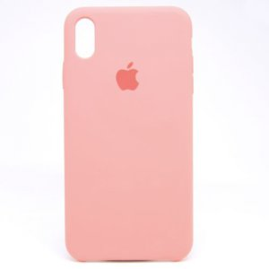 "Чехол Apple Silicone Case для iPhone X/Xs ""06"" Lite Pink"
