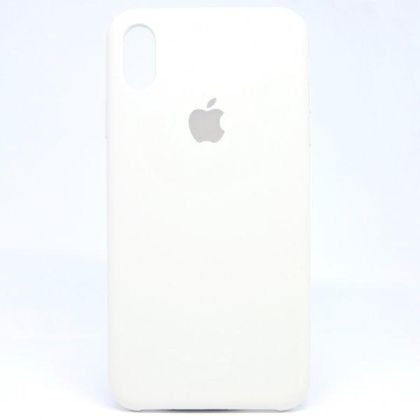 """Чехол Apple Silicone Case для iPhone X/Xs """"04"""" White"""