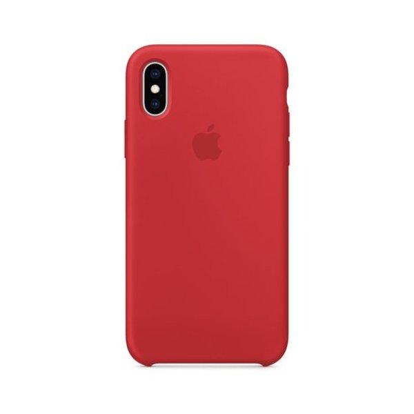 "Чехол Apple Silicone Case для iPhone X/Xs ""02"" Red"