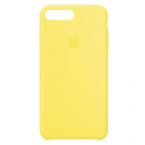 """Чехол Apple Silicone Case для iPhone 7 Plus/8 Plus """"24"""" Yellow"""