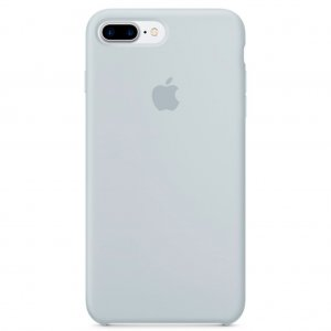 """Чехол Apple Silicone Case для iPhone 7 Plus/8 Plus """"20"""" Mist Blue"""