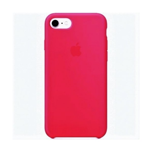 "Чехол Apple Silicone Case для iPhone 7 Plus/8 Plus ""03"" Crimson"