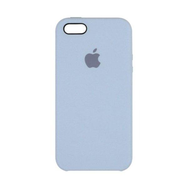 "Чехол Apple Silicone Case для iPhone 5 ""10"" Lilac"