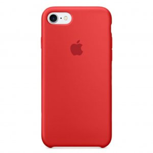 "Чехол Apple Silicone Case для iPhone 7/8 ""02"" Red"