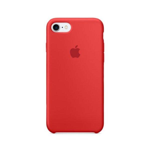 """Чехол Apple Silicone Case для iPhone 7 Plus/8 Plus """"02"""" Red"""
