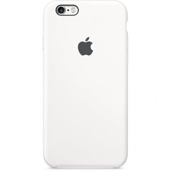 """Чехол Apple Silicone Case для iPhone 6/6s """"04"""" White"""