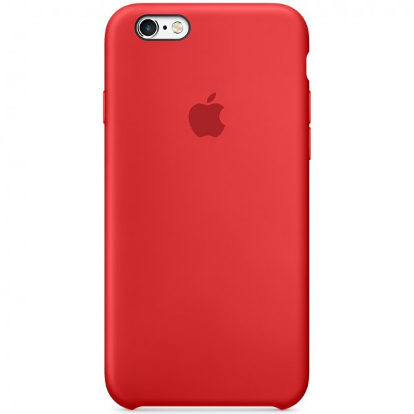 "Чехол Apple Silicone Case для iPhone 6/6s ""02"" Red"