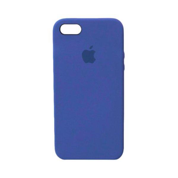 "Чехол Apple Silicone Case для iPhone 5 ""23"" Ocean Blue"