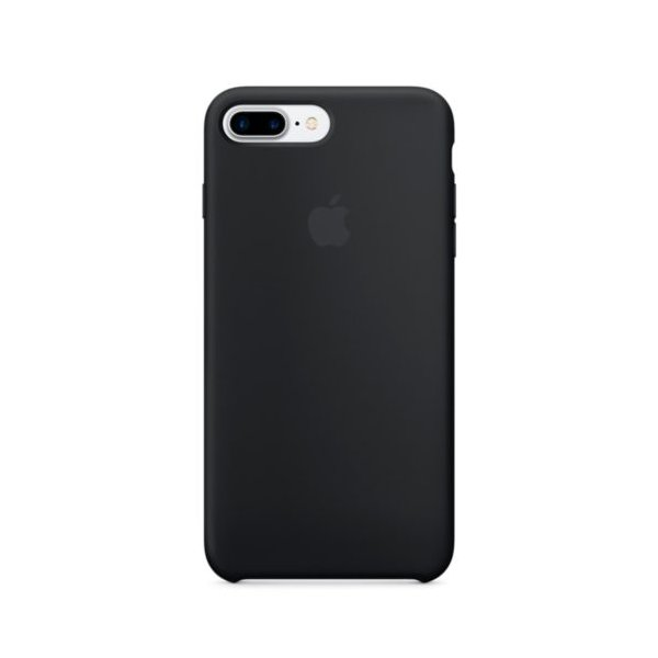 "Чехол Apple Silicone Case для iPhone 7 Plus/8 Plus ""01"" Black"
