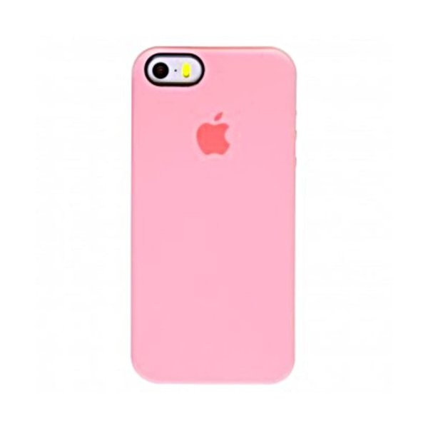 "Чохол Apple Silicone Case для iPhone 5 ""06"" Lite Pink"