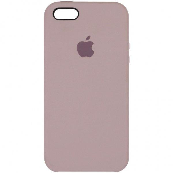 "Чехол Apple Silicone Case для iPhone 5 ""19"" Lavander"