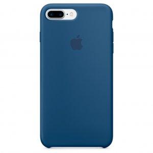 """Чехол Apple Silicone Case для iPhone 7 Plus/8 Plus """"23"""" Ocean Blue"""