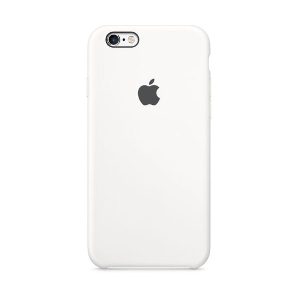 Чехол Чехол Silicone Case для для iPhone 6 White