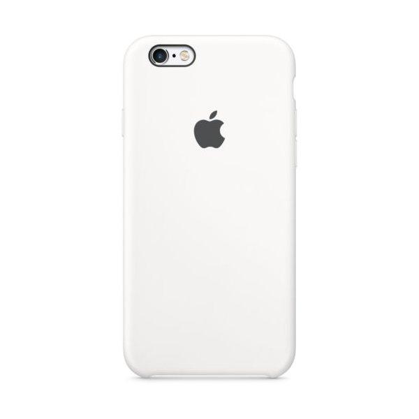 Чехол Чехол Silicone Case для для iPhone 6 White
