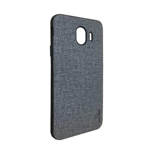 LUO Case Накладка Алькантара для Samsung J4 2018 Gray
