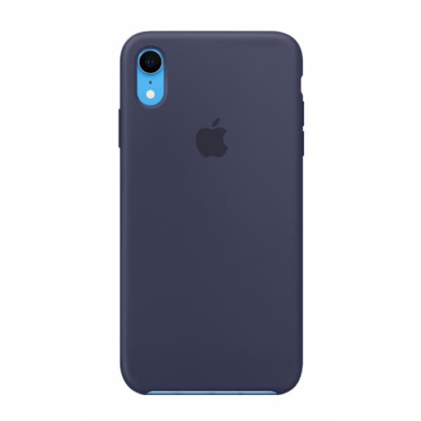 "Чехол Apple Silicone Case для iPhone XR ""29"" Midnight Blue"