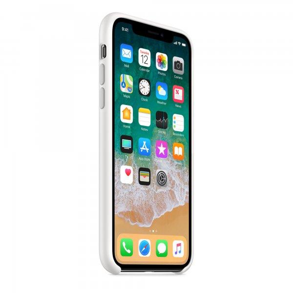 "Чехол Apple Silicone Case для iPhone XR ""04"" White"
