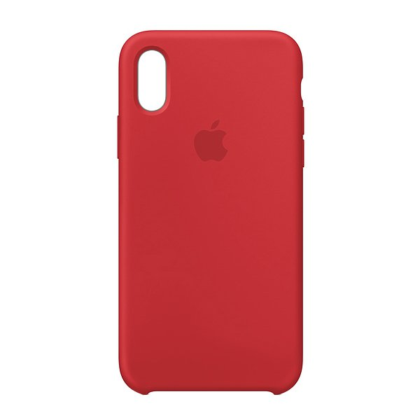 "Чехол Apple Silicone Case для iPhone XR ""02"" Red"