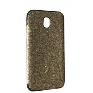 Силикон блестки Хром IPhone 7 Plus Silver