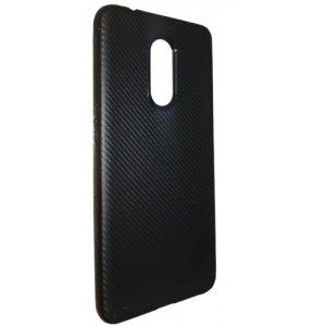 Силікон (карбон) Xiaomi RedMi Note 4 Чорний