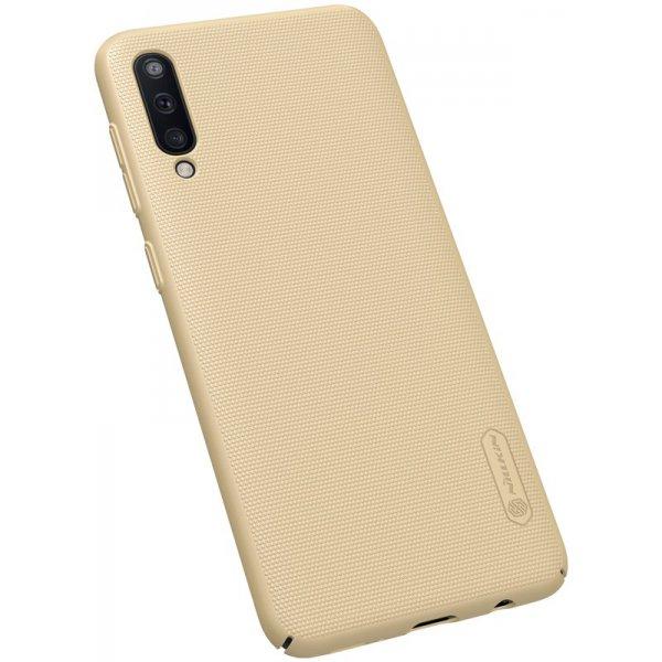 Чехол-накладка Nillkin Super Frosted Shield Samsung Galaxy A50 (A505) Gold