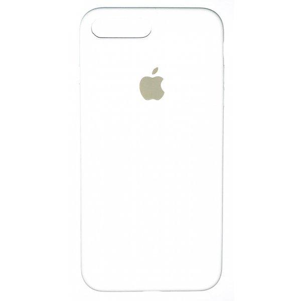 "Чехол Apple Silicone Case (закрытый низ) для iPhone X/Xs ""09"" White"