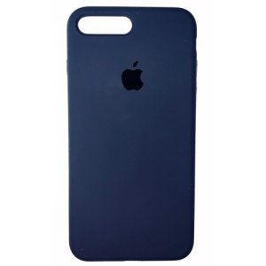 "Чехол Apple Silicone Case (закрытый низ) для iPhone X/Xs ""08"" Midnight blue"