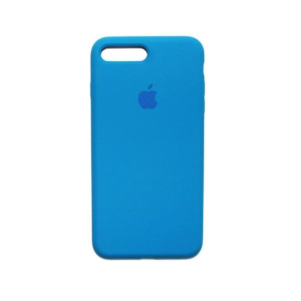 "Чехол Apple Silicone Case (закрытый низ) для iPhone X/Xs ""03"" Royal blue"