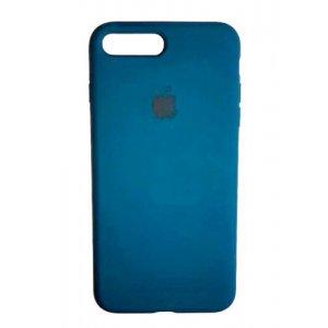 "Чехол Apple Silicone Case (закрытый низ) для iPhone Xs Max ""46"" Cosmos blue"