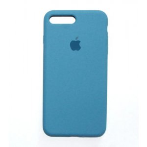"Чехол Apple Silicone Case (закрытый низ) для iPhone Xs Max ""20"" Ocean blue"